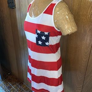 Lucky Dresses - Patriotic Lightweight Cover up or dress
